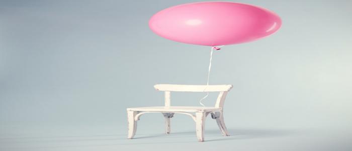 chair balloon, cathy
