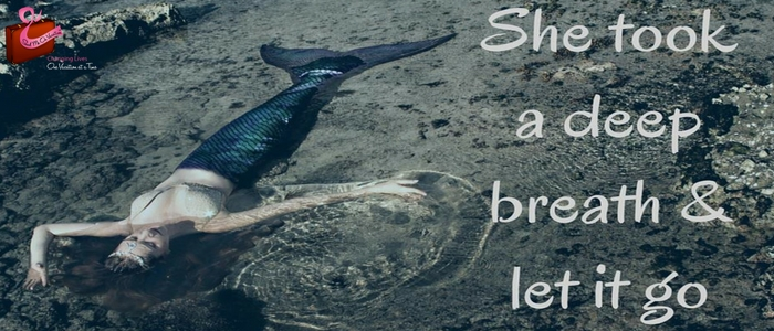 mermaid she took a breath and let it go