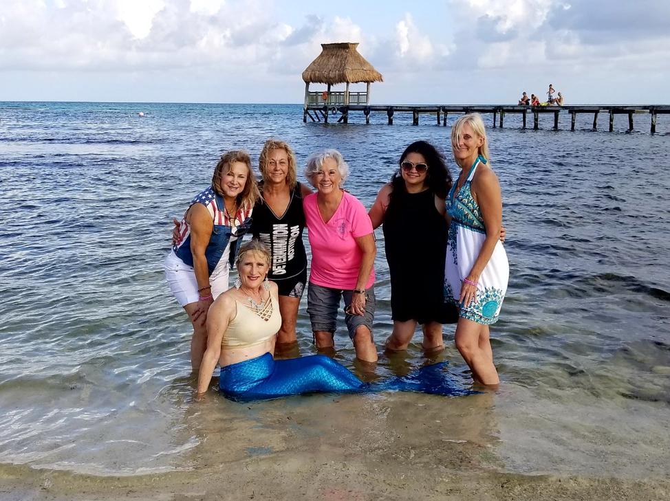Mermaid in Mexico
